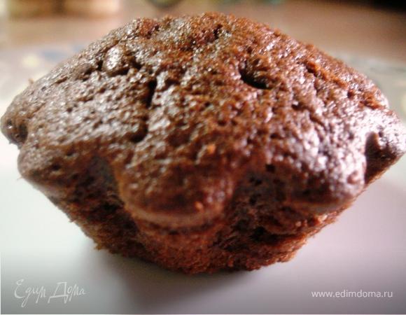 Кексы шоколадно-яблочные