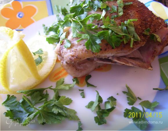 Курица с прованскими травами и лимоном