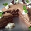 Лакомый шоколадно-мятный торт