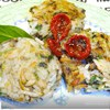 Прованский завтрак. Рисовые котлетки с шампиньонами и шпинатом.
