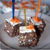 Печеночный тортик-канапе