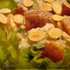 Салат из копченой рыбы с апельсинами