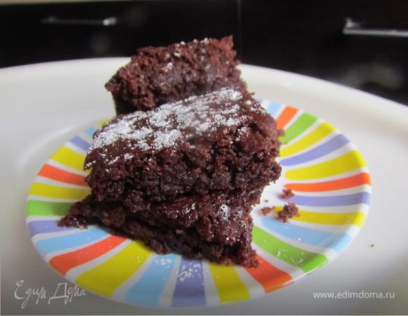 Шоколадный брауни (постный вариант)!