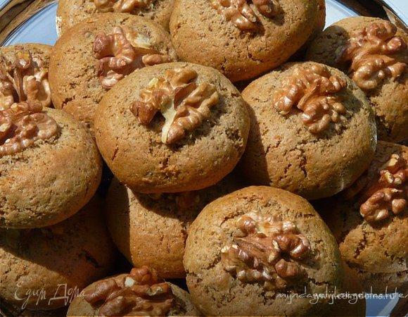 Ржаное имбирное печенье
