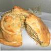 Русский слоенный пирог с семгой