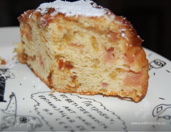 """бисквит """"Ревень для гурмана"""""""