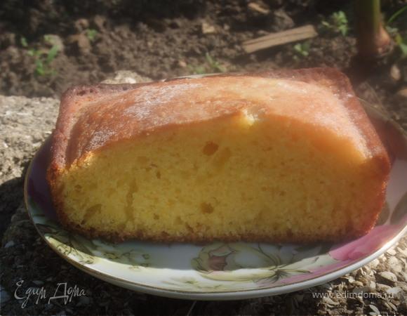 Апельсиновый кекс.....