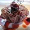 Шоколадно-орехово-вишневые маффины.