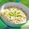 Летний завтрак №2 с киви,ревенем и кедровыми орешками