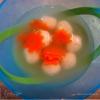 Суп с сырными клецками из манки. Детям.