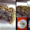 Восточный мясной пирог с мятным соусом