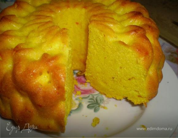 Лимонный кекс с куркумой для Симы)))