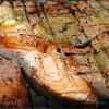 Рыба и курица для пикника