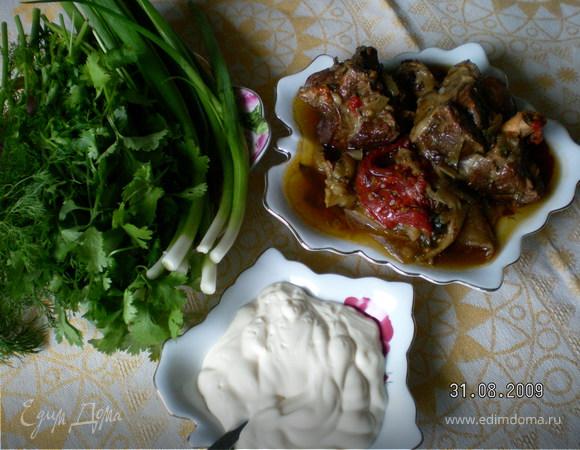 Хашлама (приготовлено руками моего мужа)
