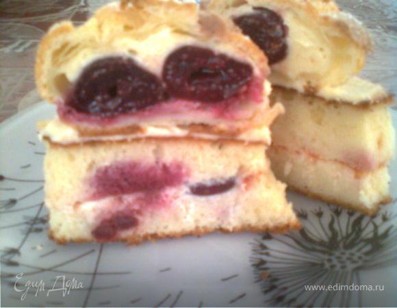 Торт для любителей профитролей