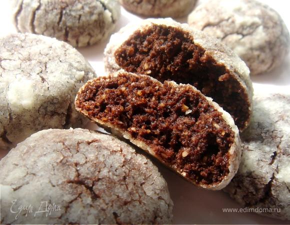 Шоколадное печенье от Рони Венеции