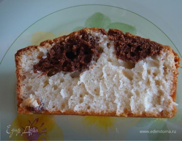 Домашний кекс с изюмом