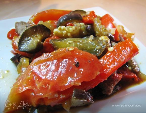 Рагу, из говядины с овощами