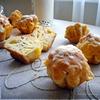 Ветчинно-сырные маффины