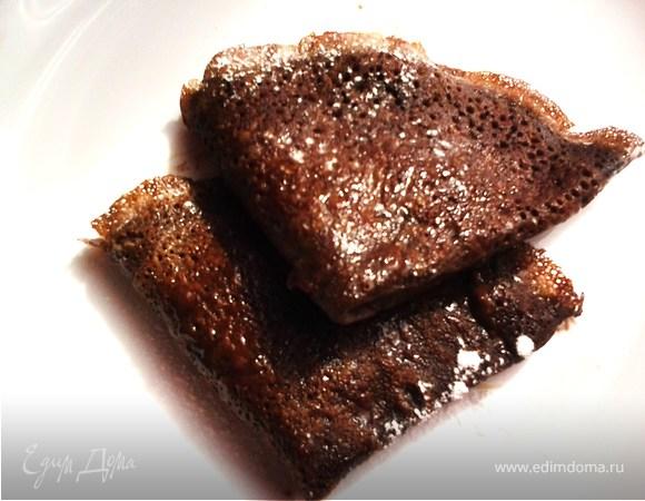 Шоколадные блинчики с восхитительной начинкой