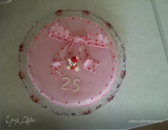 Творожный тортик с пьяной вишней