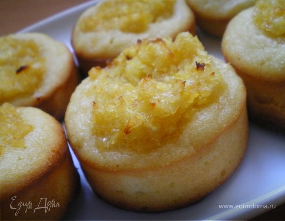 Лимонные мини-кексы