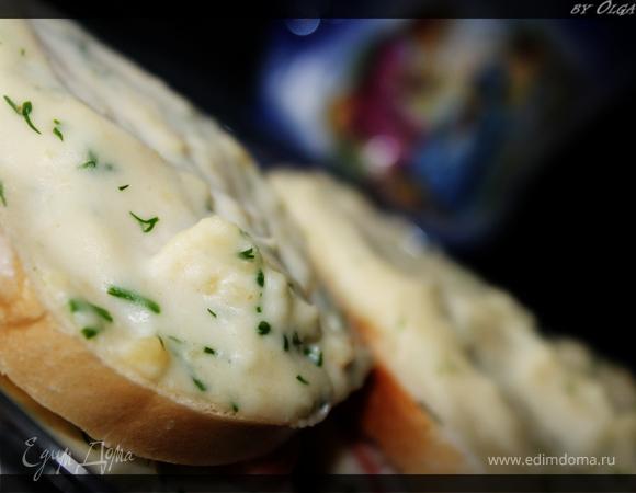 Хрустящие сэндвичи с соусом бешамель