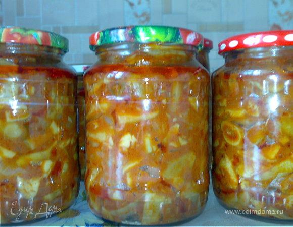 Грузди в томатном соусе