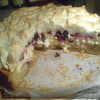 Творожный торт со смородинной начинкой