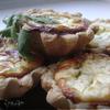 Творожные тарталетки с сыром