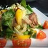 Теплый салат с говядиной в китайском стиле