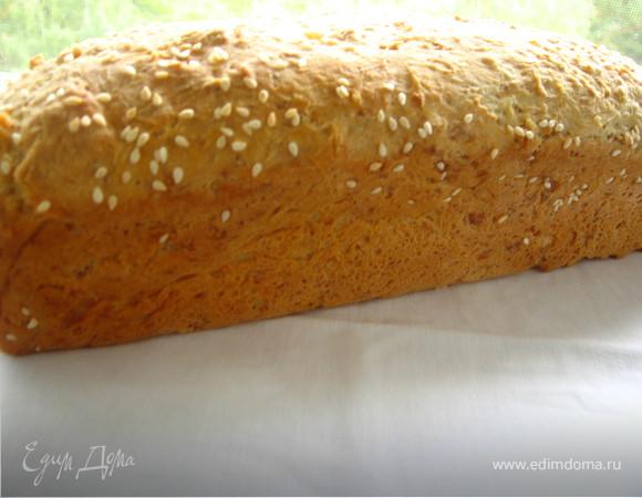 Быстрый овсяный хлеб