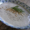 Сrema di funghi porcini con crostini all*aglio