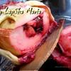Запеченные в тесте яблоки с ягодной начинкой