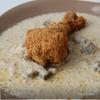 Курочка в панировке и сметанном соусе