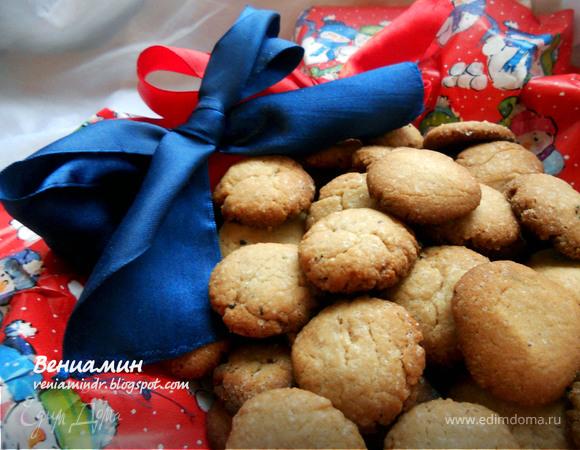 Датское пряное рождественское печенье (Pebernodder)