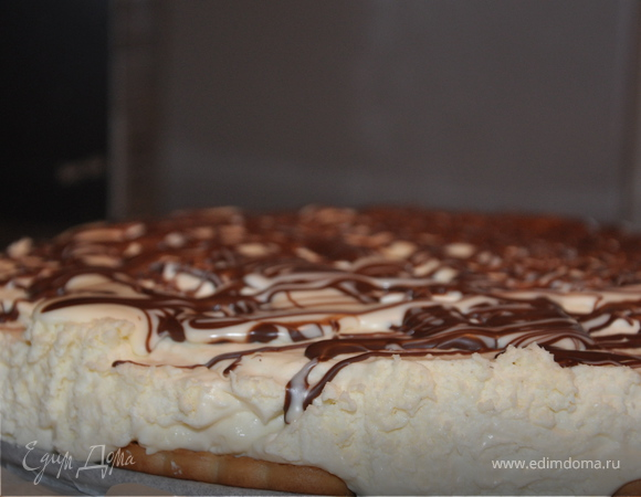 """Торт с творожным сыром """"Белый шоколад"""""""