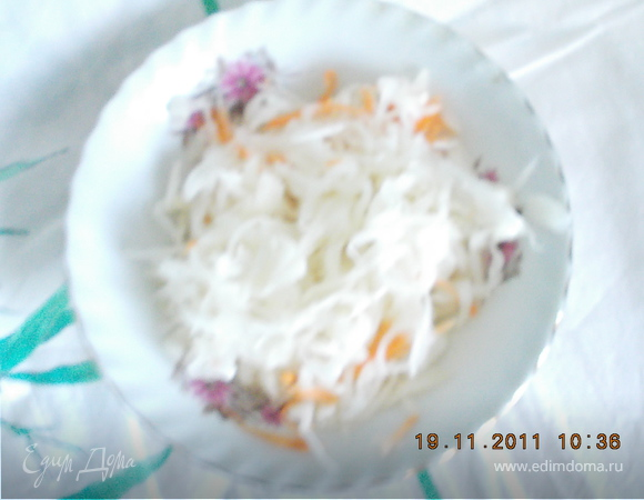 Медовая капустка от казачки Нади