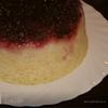 Пирог с брусникой в СВЧ