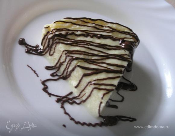 Творожный десерт в СВЧ