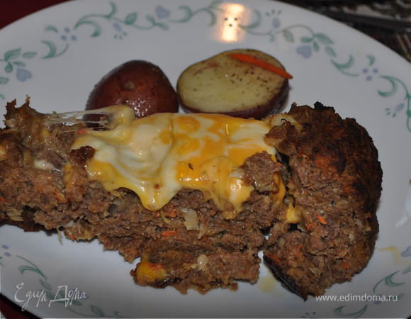 Мясной хлеб-чизбургер