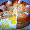 Сочный сметанный пирог с мандаринами и кокосом