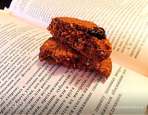 Tescoma. Овсяное печенье с шоколадом и орехами
