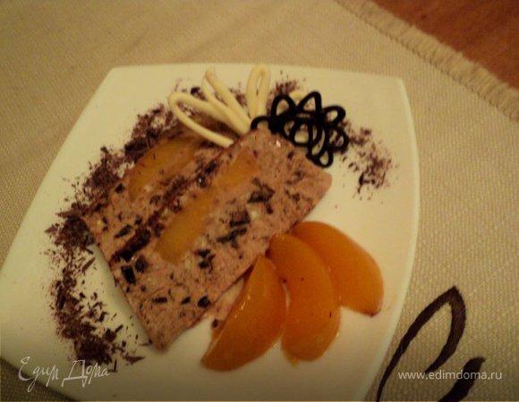 Шоколадно-миндальный семифредо
