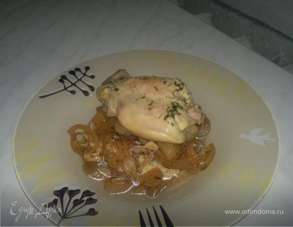 Кролик со спагетти с японской заправкой