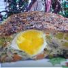 Террин куриный с грибами и яйцами