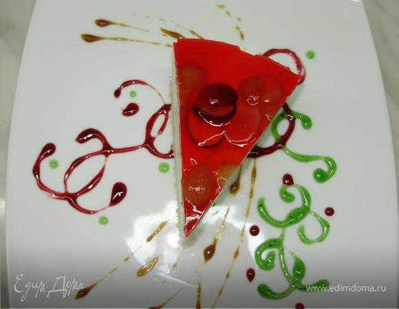 Холодно-ягодный чизкейк
