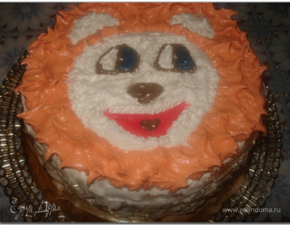 "Торт ""Леди Балтимор"" (на 1,6 годика моему сыночку)"