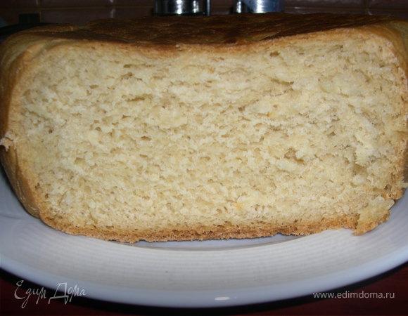 Белый хлебушек на сыворотке с горчицей