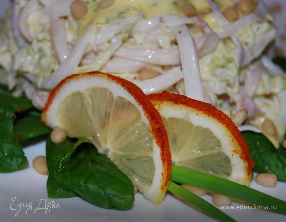 Squid-салат